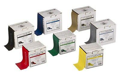 TheraBand Professional Pre-Cut Non-Latex Resistance Bands Co