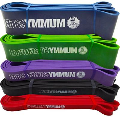 Red - SINGLE BAND - MummyStrength Pull Up Assist & Resistanc