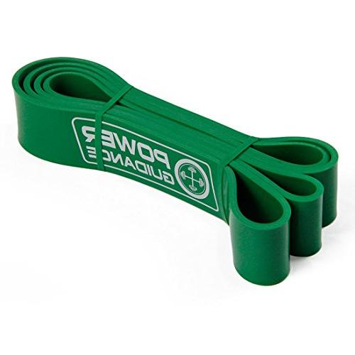 POWER GUIDANCE Pull Assist - Resistance Band - Powerlifting Bands - by Perfect Body Training - Green