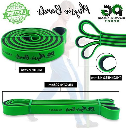 Pull Up - Best Resistance Loop Bands Assist, Muscle Toning, Stretching, Legs Therapy Pilates & 1