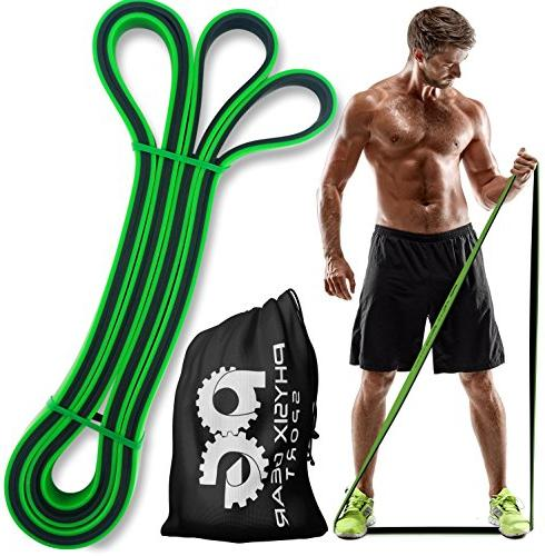 Pull Up - Bands Set Assist, Muscle Legs Glutes Physical Therapy & - Home 1