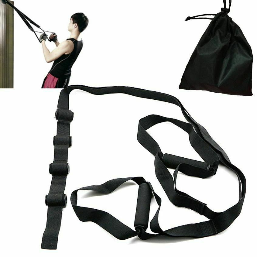 Pull Rope Resistance Bands Belt Hanging Polyester Home Fitne