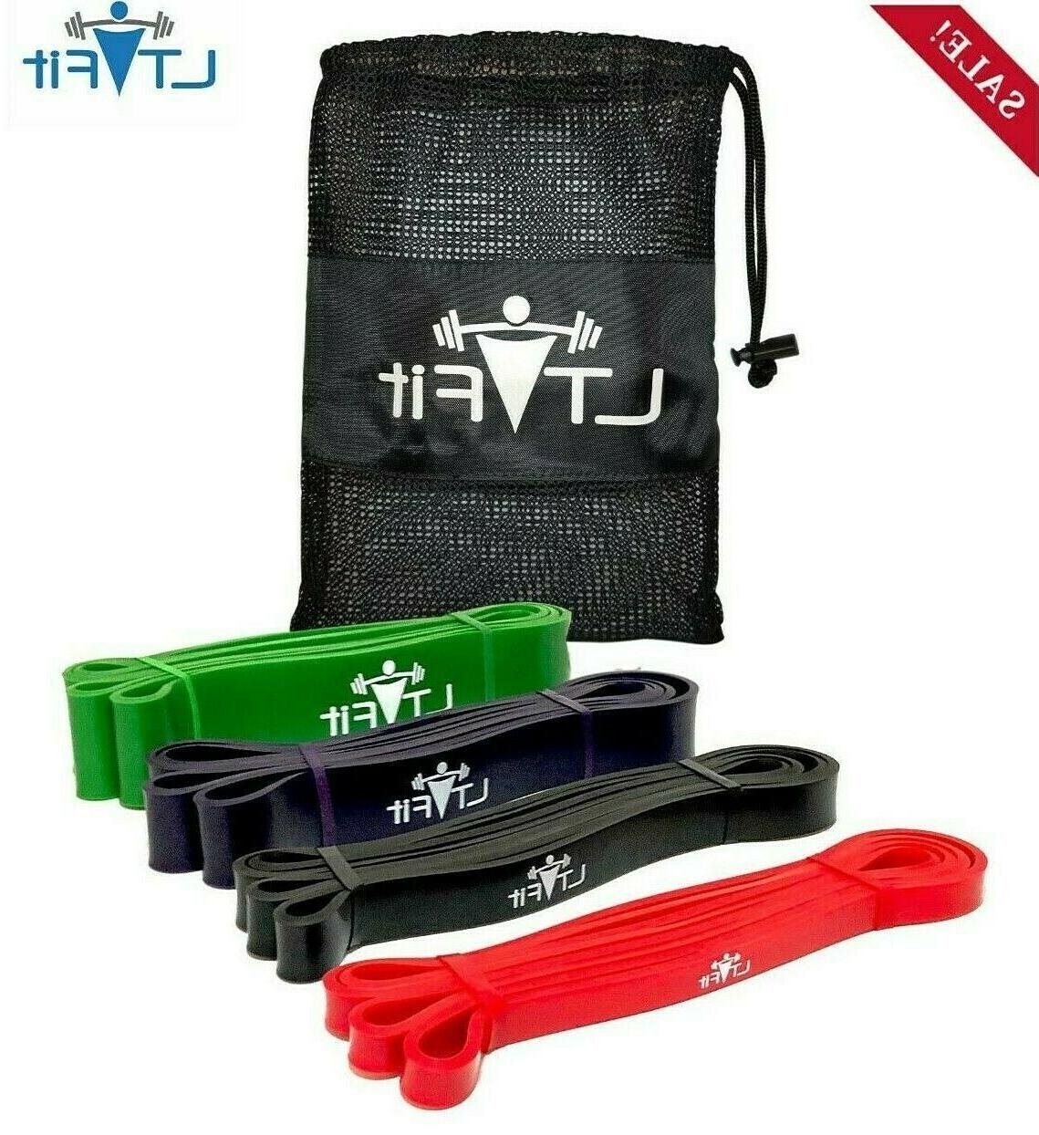 pull up assist bands resistance powerlifting crossfit