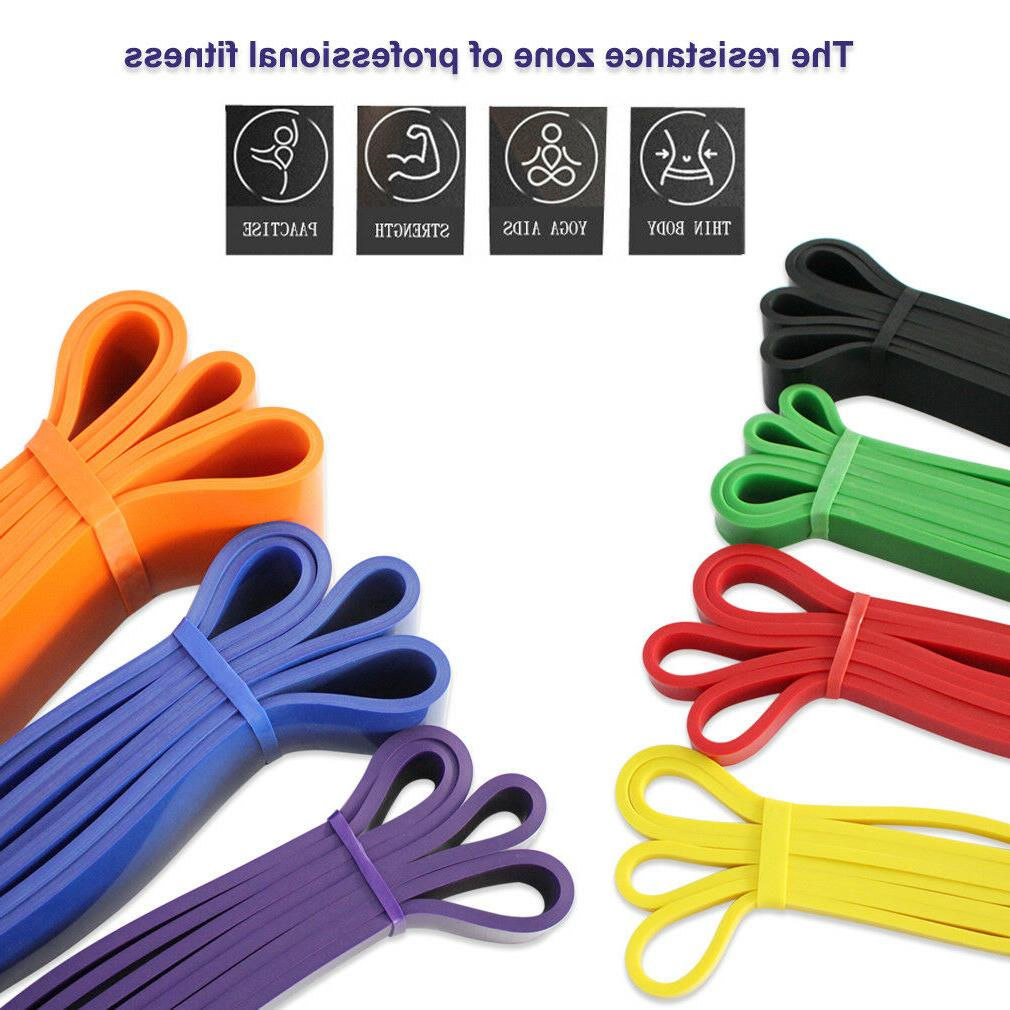 Heavy Resistance Loop Fitness Yoga Exercise Band