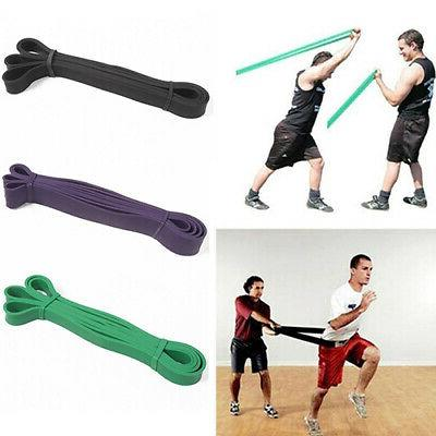 Pull Up Bands Resistance Loop Power Gym Fitness Exercise Yog