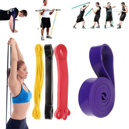 pull up resistance body stretching band loop