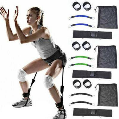 resistance band bounce training device jump leg