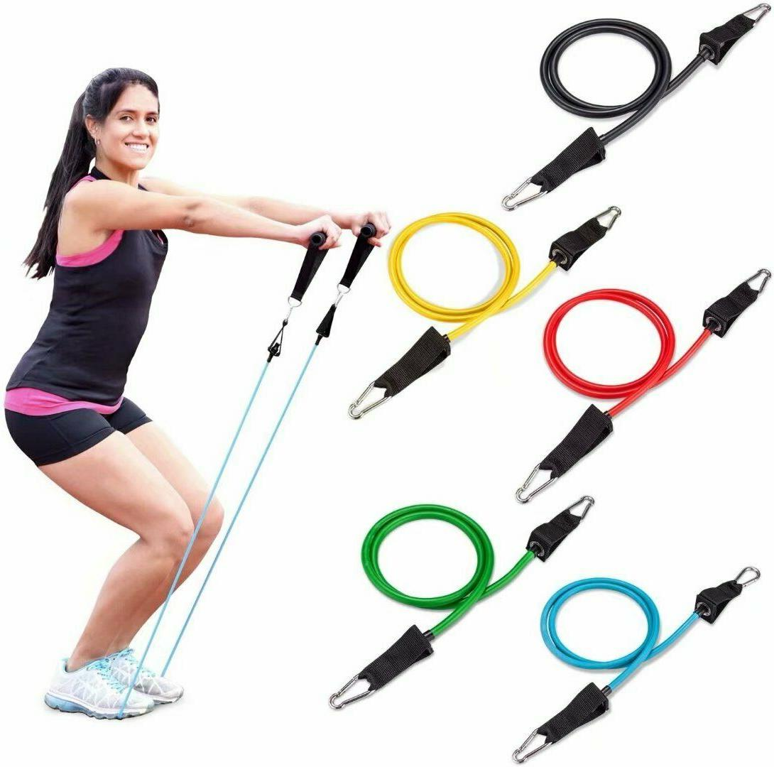 Resistance Band, - With Door - Set 5 Colors Bands