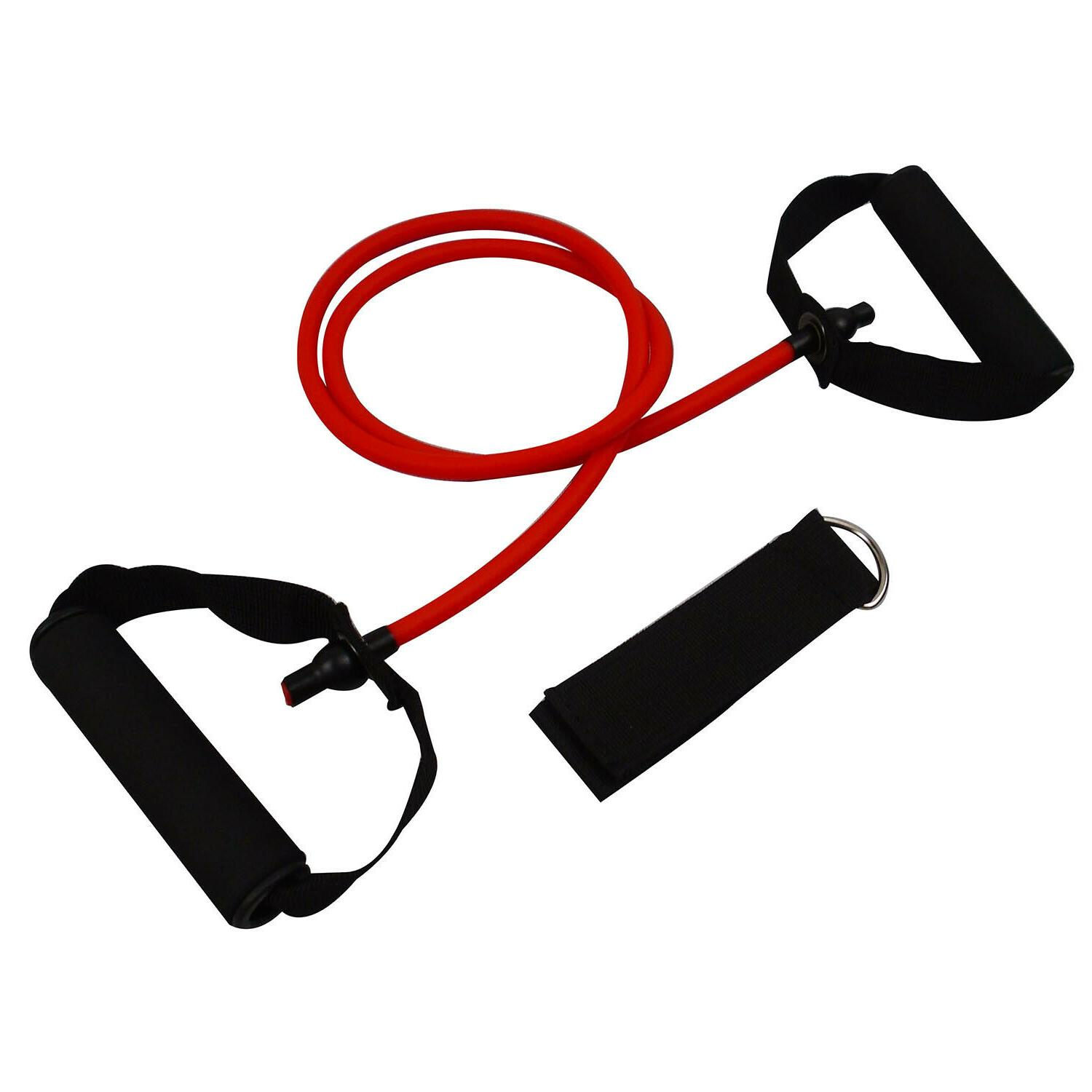 Resistance Tube - With Door - Set of 5 Colors Bands