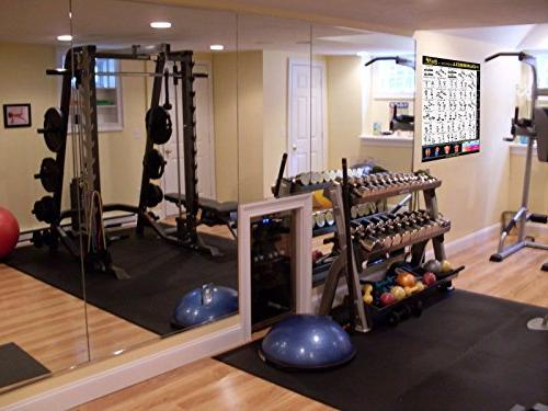 """Eazy To Resistance Band Poster BIG 28 20"""" Build & Muscle Home Gym"""