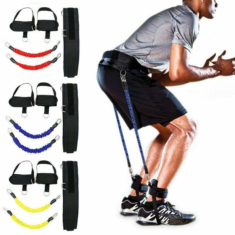 Resistance Band Fitness Bouncing Trainer Rope Basketball Ten