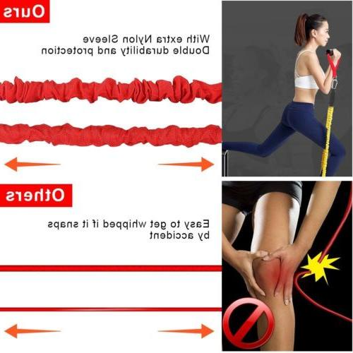 Resistance Leg Training Exercise Straps