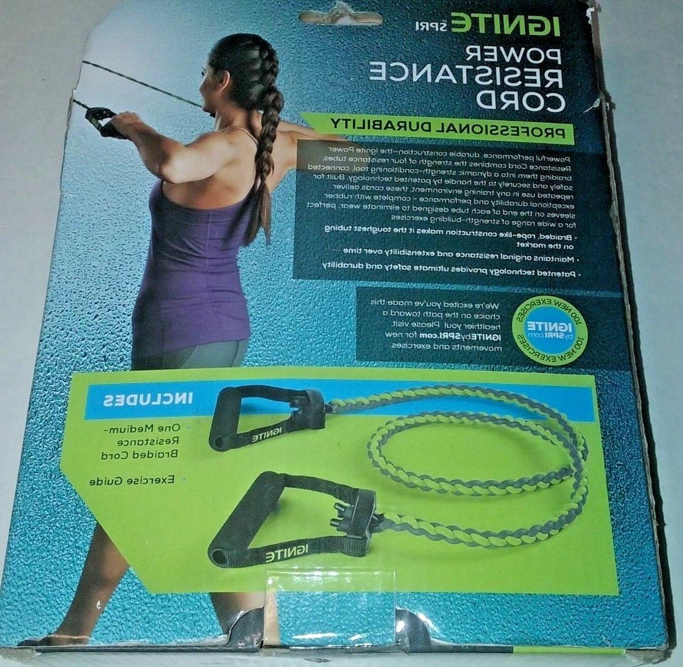 SPRI Resistance Band Power Braided Exercise Bands Medium New in