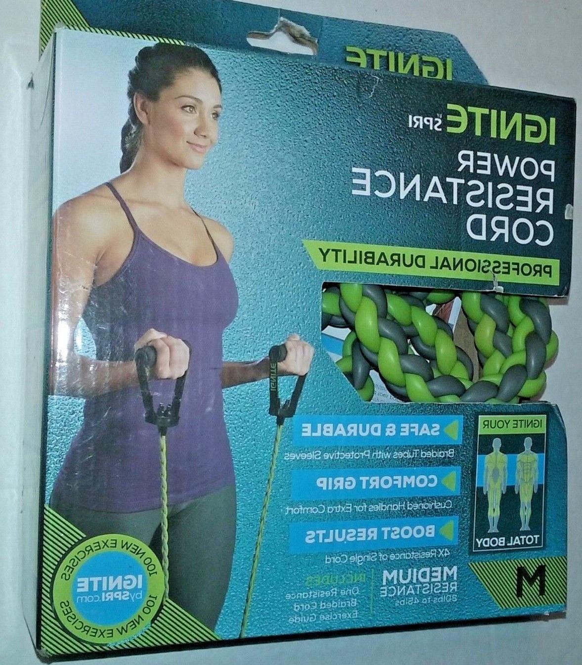 resistance band power braided exercise bands medium