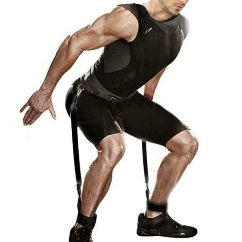 Resistance Pull Exercise Bounce Leg