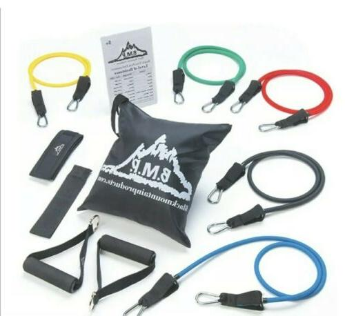 Black Band Set Anchor, Ankle Exercise Chart, Resistance