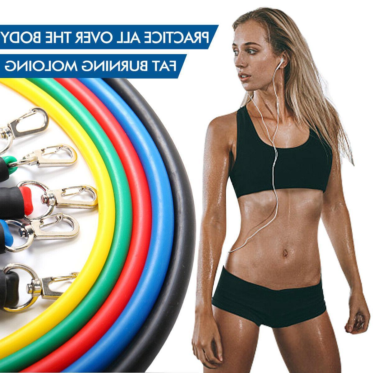 Yoga Pilates Rubber Workout Training
