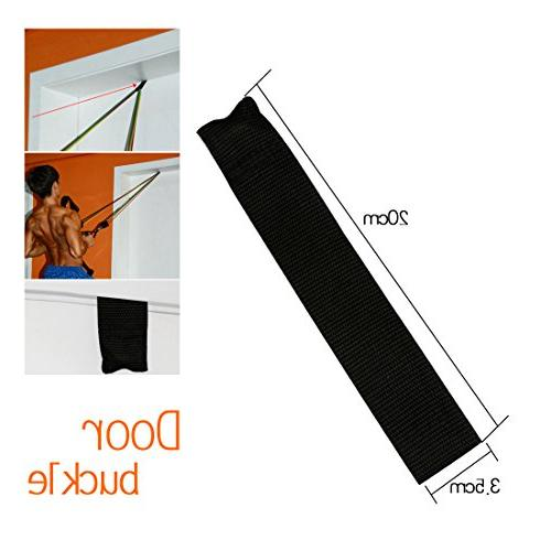A-SZCXTOP Resistance Band Home -5 Tube Exercise for Body with Arm,Chest,Abdomen