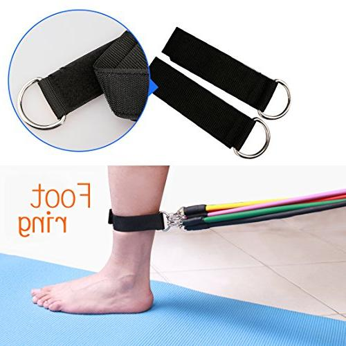 A-SZCXTOP Resistance Band Set Home Tube Exercise Body Shaped Arm,Chest,Abdomen