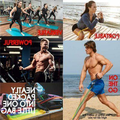 Set Premium 11pc Portable Exercise Bands