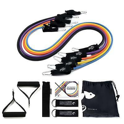 resistance band set resistance bands with handle