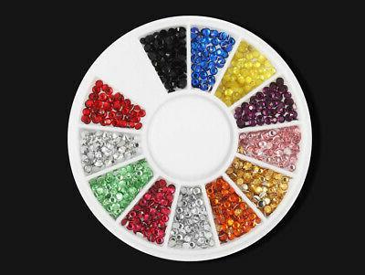 Acrylic Nail Kit Glitter Manicure Rhinestone Set