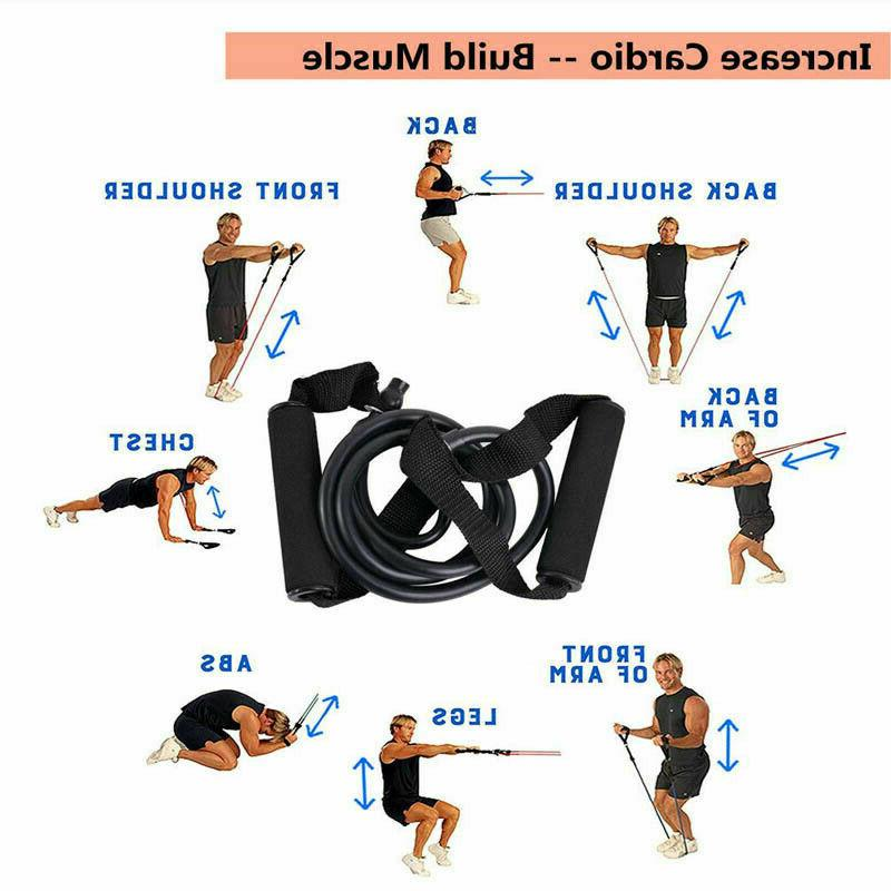 Resistance Exercise Gym Workout Pull Rope