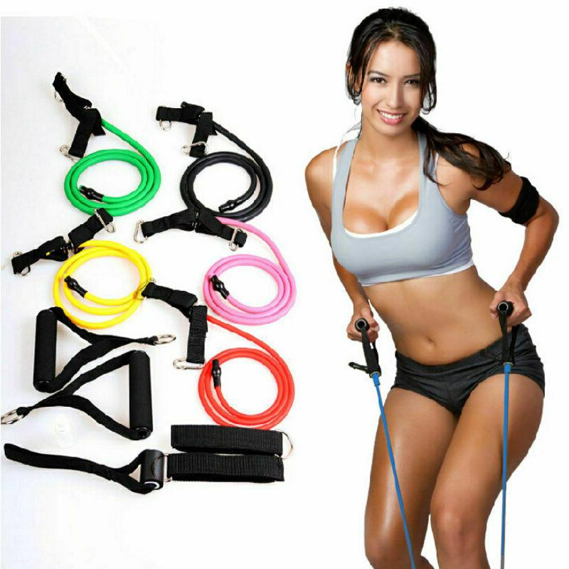 Resistance Band Exercise Gym Bands Rope