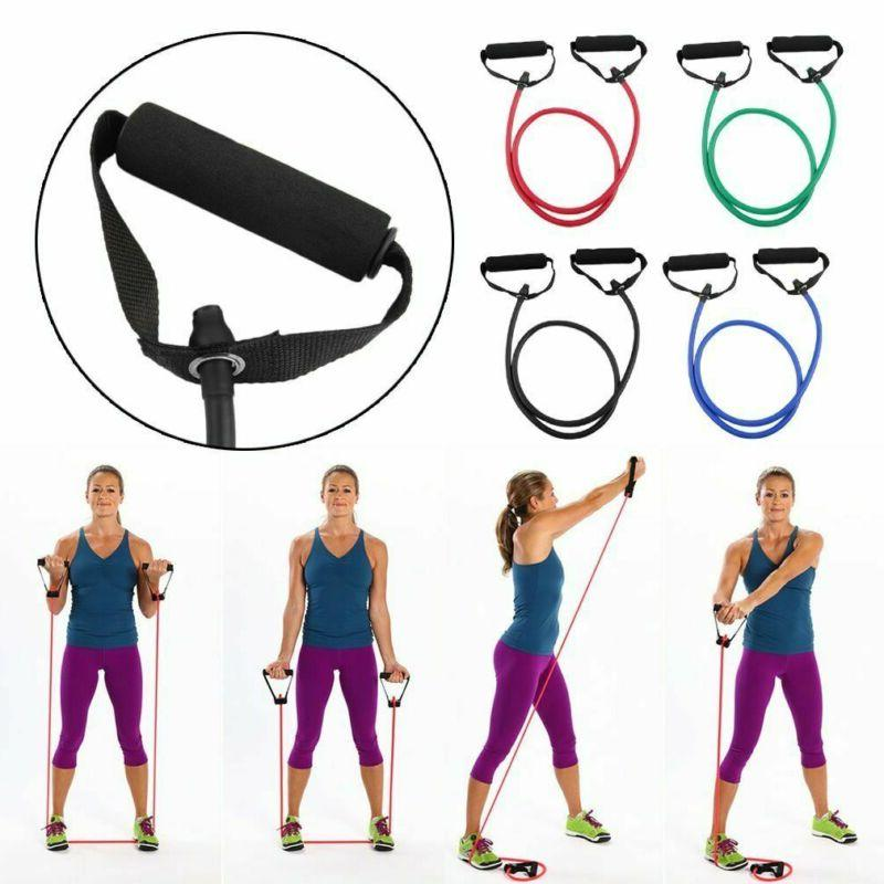 Resistance Band Exercise Fitness Gym Workout Pull Rope
