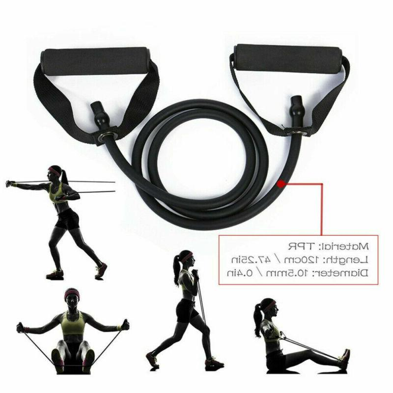 Resistance Band Yoga Exercise Fitness Tube Gym Bands Rope