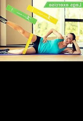 Resistance Bands 5 Set Exercise Bag Legs Therapy