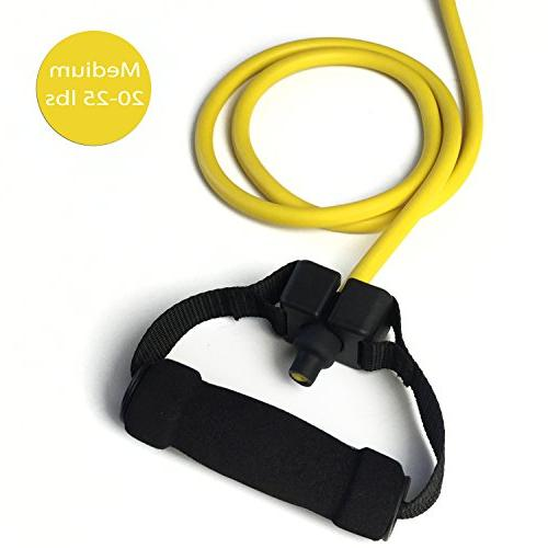 Quality Resistance Bands Single Handles Used with Fix