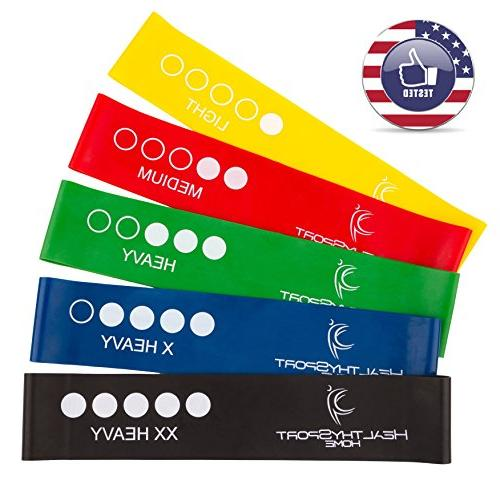 Bands for Butt with Carry - of 5 Resistance Loops - - -