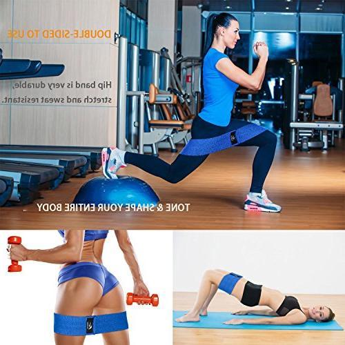 Resistance Exercise Hip Butt,Resistance Non Slip, Hip Band, Fabric Hip