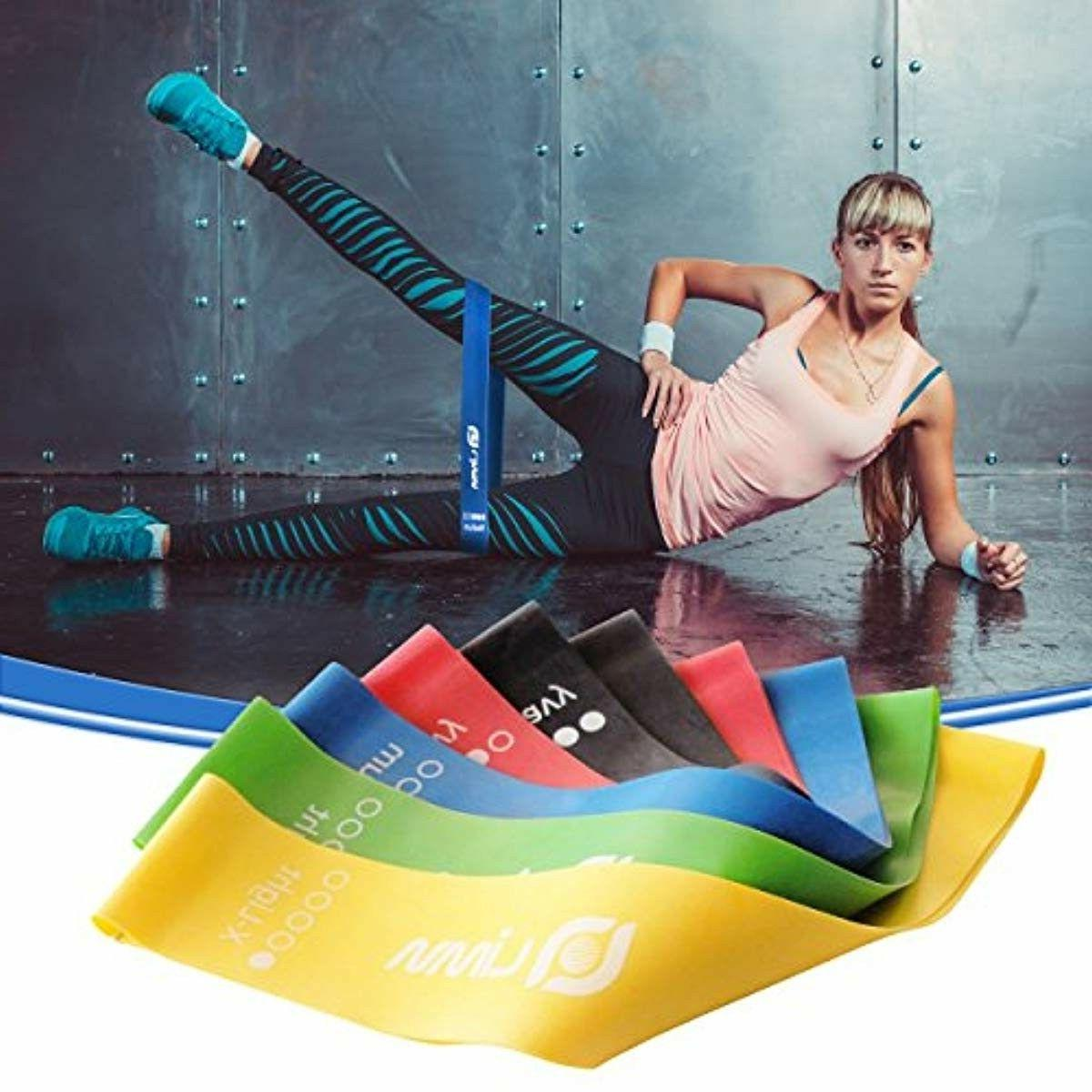 Limm Resistance Loops - Set of 5, 12-inch Workout Flexbands for