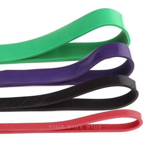 Resistance Bands Loop Weight Training Fitness Exercise
