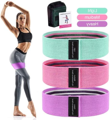 resistance bands for legs and butt exercise
