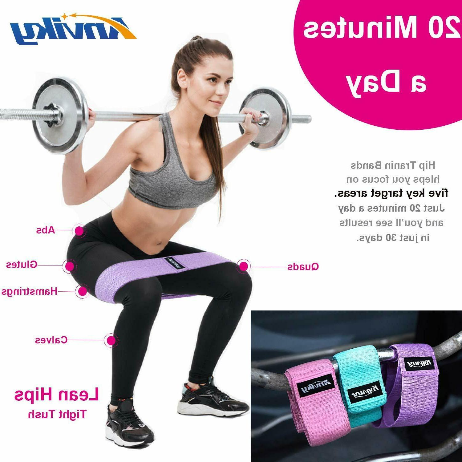 Resistance for Legs and Butt Hip Bands Exercise Band B