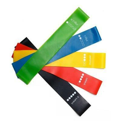 Resistance Bands | Duty Exercise Fitness Loop Set Gym