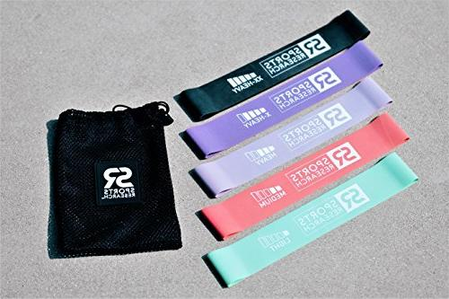 Sports Research Bands ~ | Heavy & Resistance Loop Bands | Free
