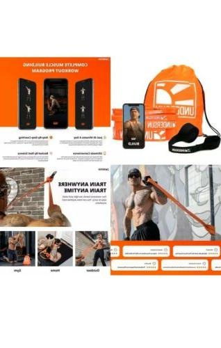 Undersun Resistance Workout Exercise Fitness Training Gym Tube