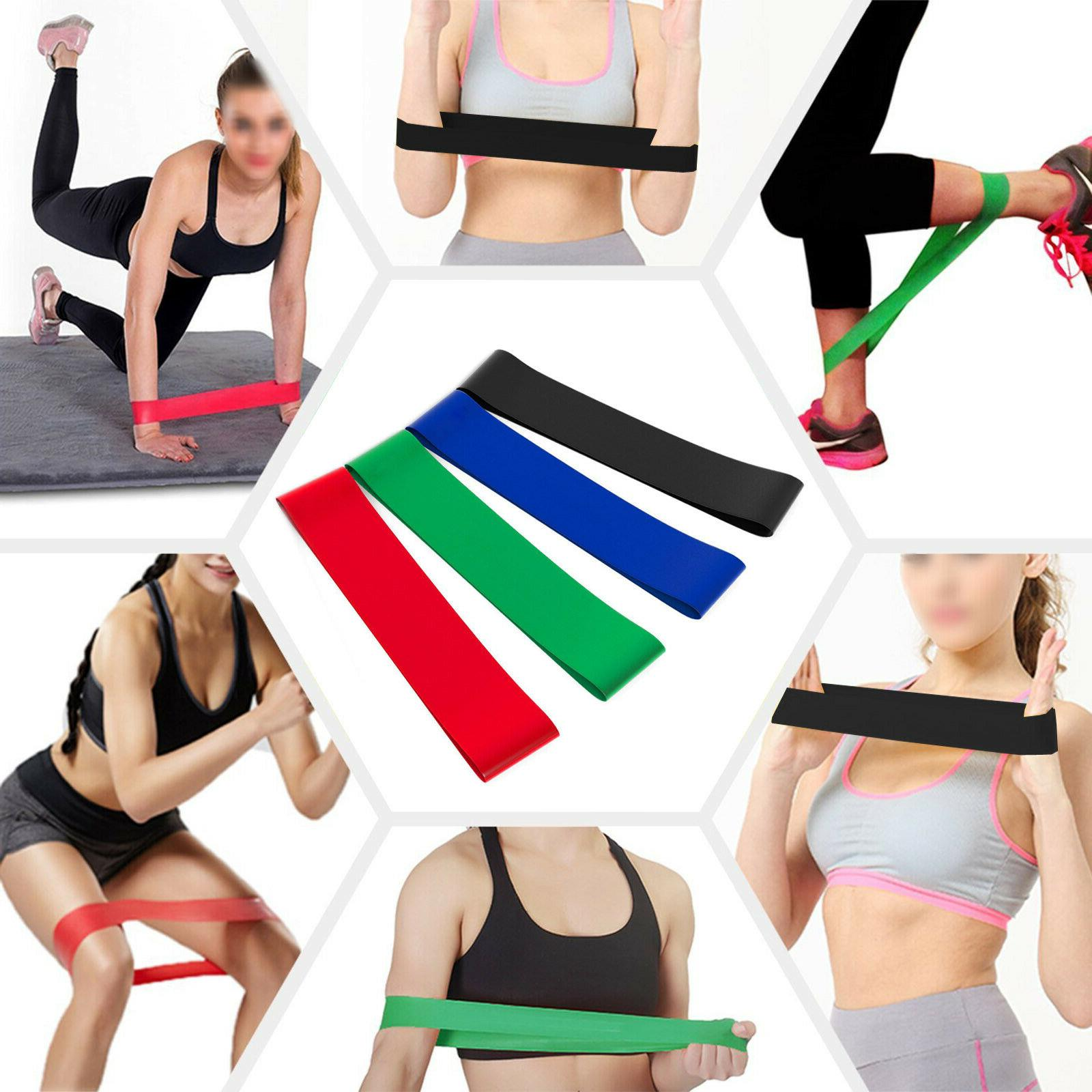 Resistance Bands - Exercise & Fitness Latex Loop Set for Hom