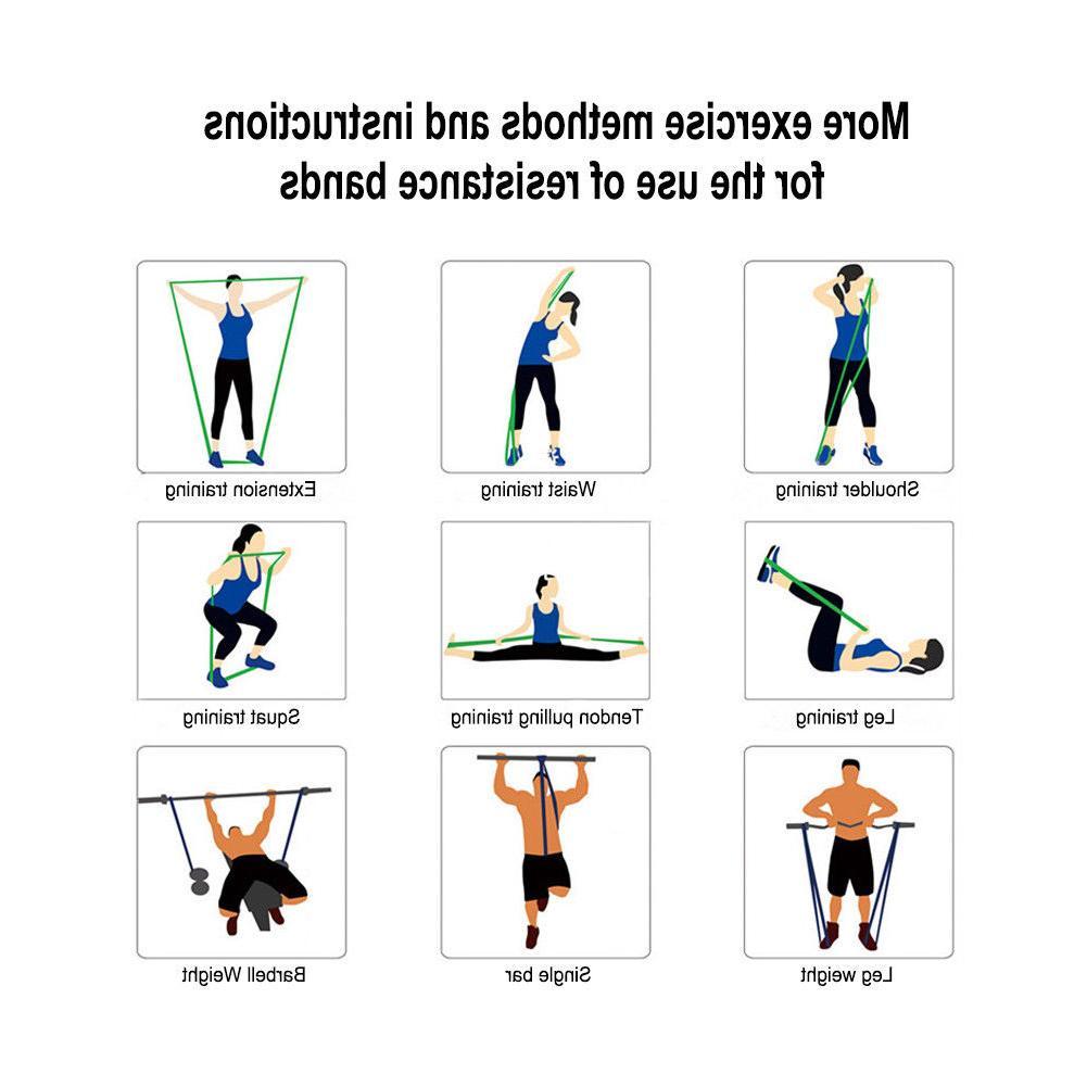 Stretching Band Gym Exercise US