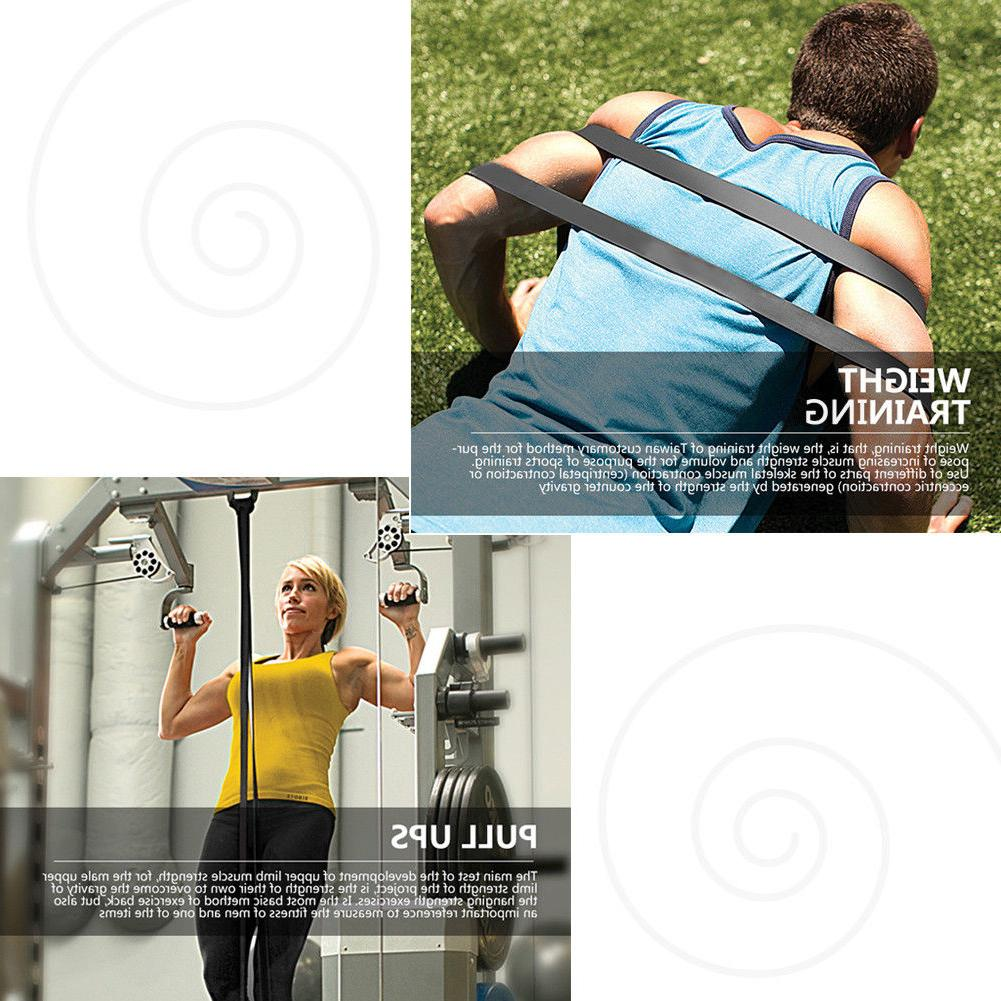 Pull Resistance Stretching Loop Gym Fitness Exercise Yoga US