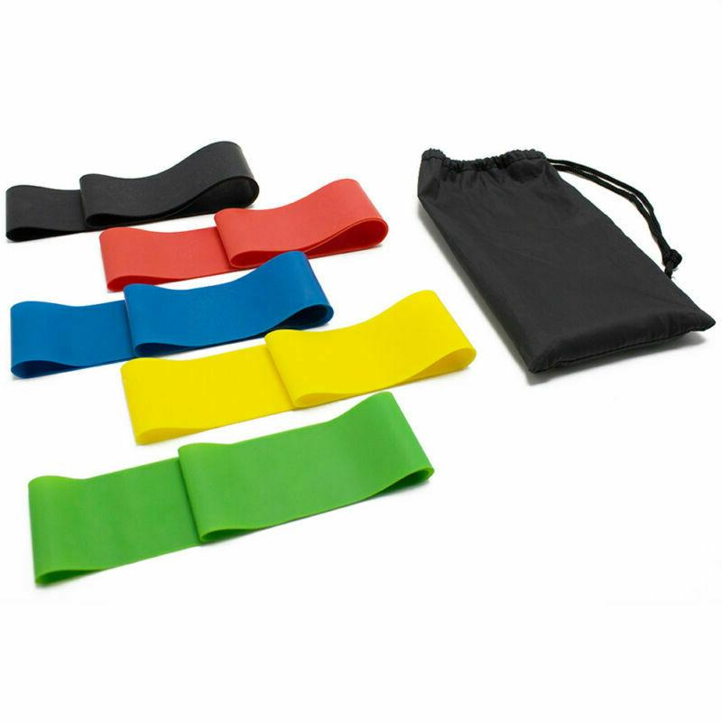 Resistance Bands Loop Workout Fitness Yoga of