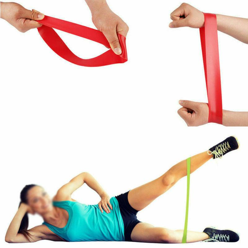 Resistance Loop Exercise Workout CrossFit Yoga Set of 5