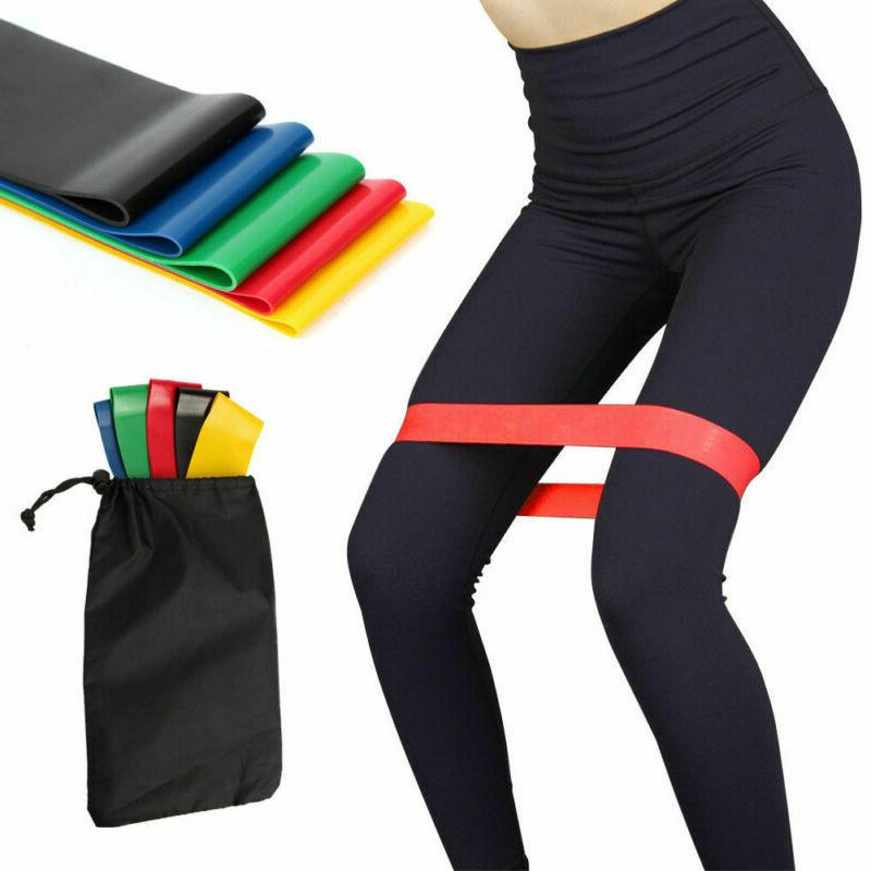 resistance bands loop exercise workout crossfit fitness
