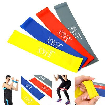 resistance bands loop exercise yoga elastic workout