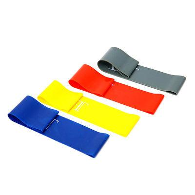 Resistance Yoga Workout Band Fitness Training 4pcs