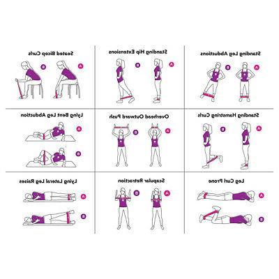 Resistance Exercise Sports Gym Yoga Latex